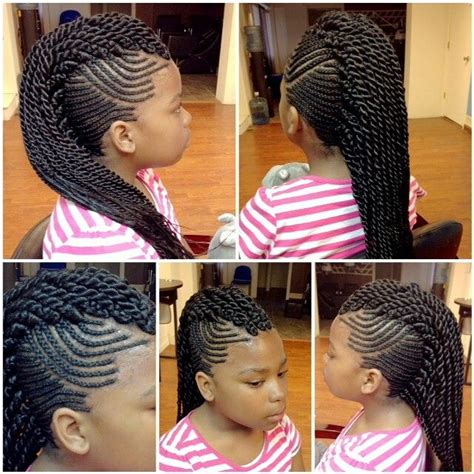 mohawk braid with senegalese twist 10 best images about shear rubies hair masters on