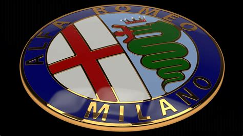 alfa romeo emblem alfa romeo badge johnywheels com