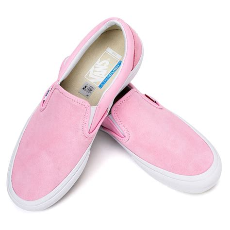 Slip On Shoes Pink vans slip on pro shoe pink at skate pharm