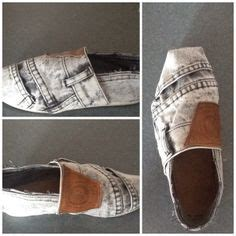 diy denim shoes 1000 images about denim shoes on