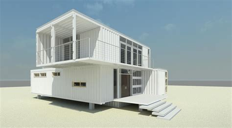 4 Bedroom Floor Plans One Story by 10 Modern 2 Story Shipping Container Homes Container Living