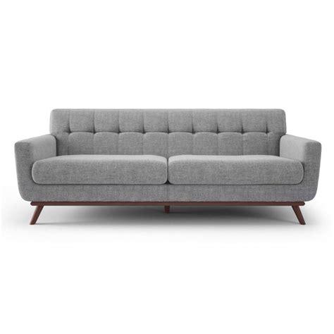 eurway sofa modern sofas velka wood gray fabric sofa eurway