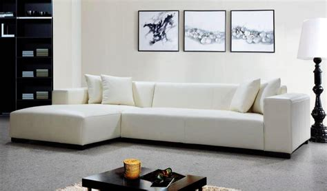 online sofa design luxurious white leather fabric corner sofas at