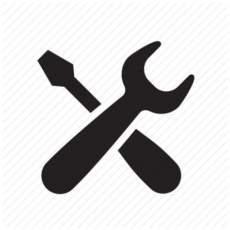 repair icon fix help repair screw driver service setting