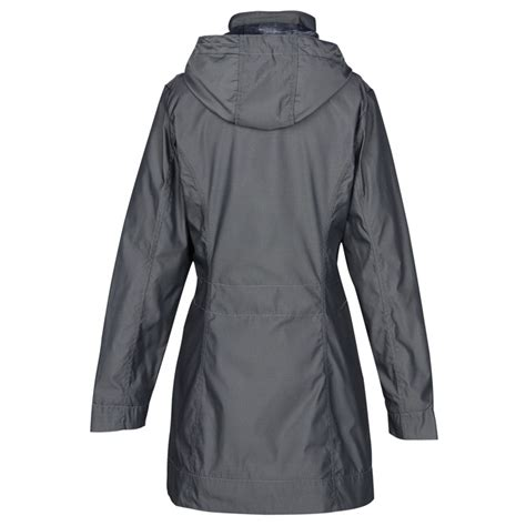 Hooded Trench Jacket 4imprint ca ogio quarry hooded trench jacket