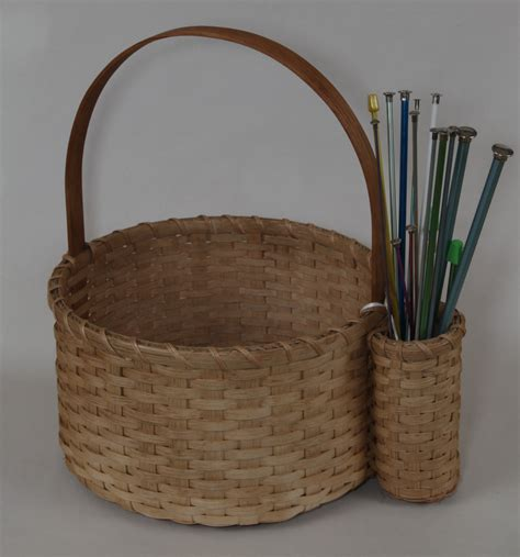 knitting basket baskets