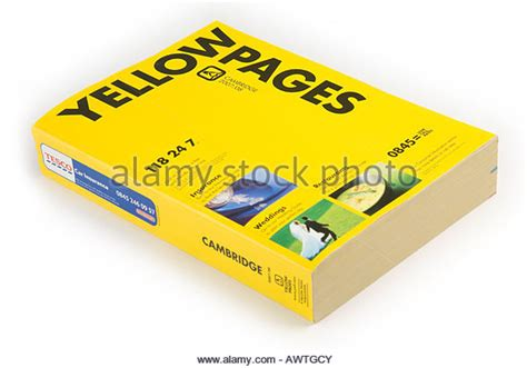 Finder Yellow Pages Yellow Pages Phone Stock Photos Yellow Pages Phone Stock Images Alamy