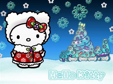 kitty christmas wallpapers  kitty