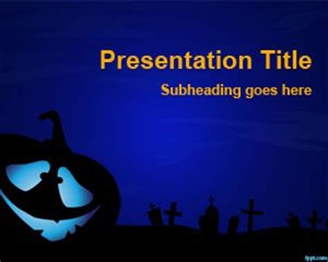Creepy Powerpoint Template Free Download Creepy Powerpoint Backgrounds