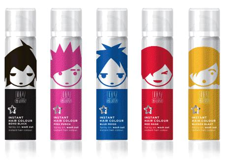 review superdrug uv instant colour hairsprays