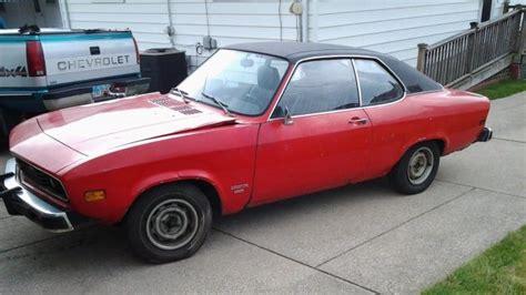 1974 Opel Manta For Sale by R 252 Sselsheim Riviera 1974 Opel Manta
