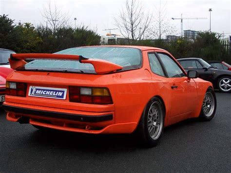 porsche 944 spoiler dbracing porsche 944 turbo rear view with bridge