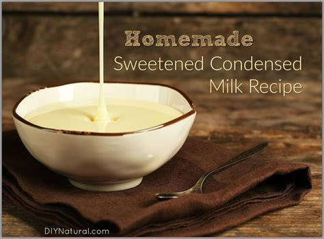 homemade sweetened condensed milk with evaporated milk