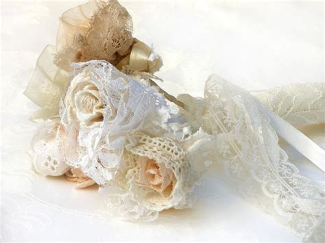 Wedding Bouquet Lace by 20 Crochet Lace Bridal Bouquet Lace Wedding Flowers