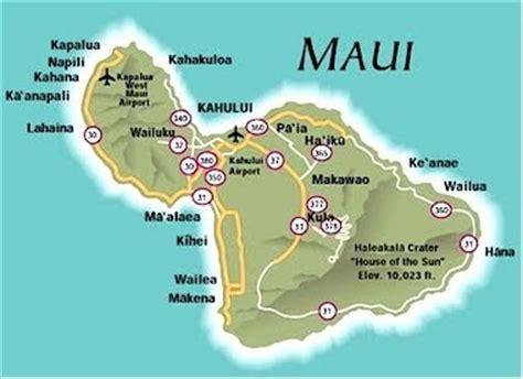 printable road map of hawaii map of maui free printable maps
