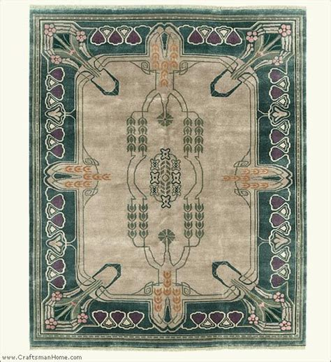 Craftsman Style Rug by Carpet And Arts And Crafts On