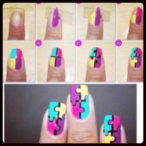 Jigsaw Nail
