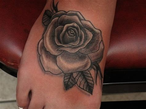 grey rose tattoo devoted ink tattoos traditional school black and