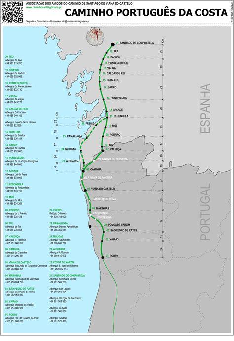 Camino De Santiago Portugal by The Portuguese Camino Camino Jakobsweg