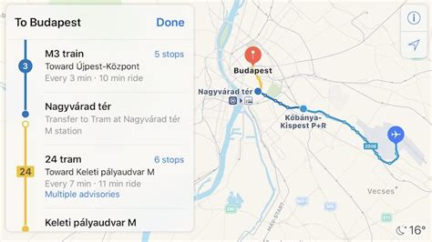 Hopstop Subway Directions Now Available For Your Phone by Apple Maps Transit Directions Now Available In Hungary