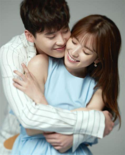 film drama lee jong suk lee jong suk and han hyo joo get intimate in the cutest