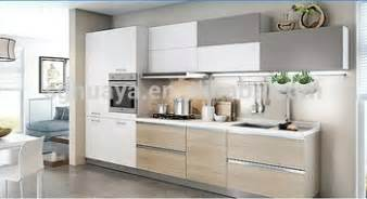 china cheap kitchen cabinet white color melamine kitchen