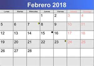 Calendario 2018 Febrero Calendario Febrero 2018 Imprimible Pdf Abc Calendario Es