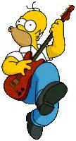 imagenes homero rockero ari va a todos lados homero rockero