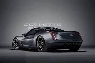 Cadillac With Corvette Engine We Rendered A Mid Engine Cadillac Corvetteforum