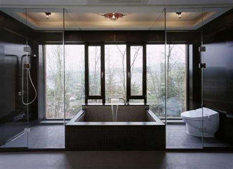 de magnifiques designs de salle de bain vitr 233 e bricobistro