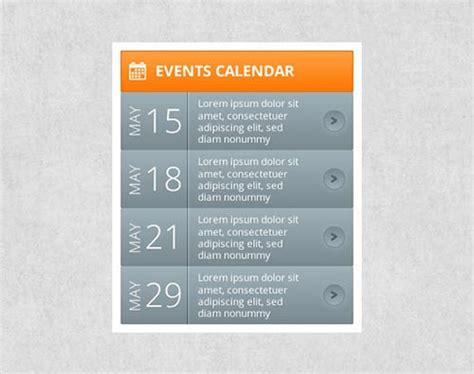 design calendar events free psd calendar designs
