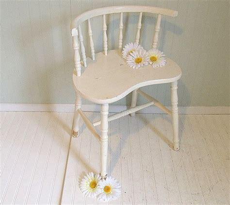 antique white vanity chair whoopsie