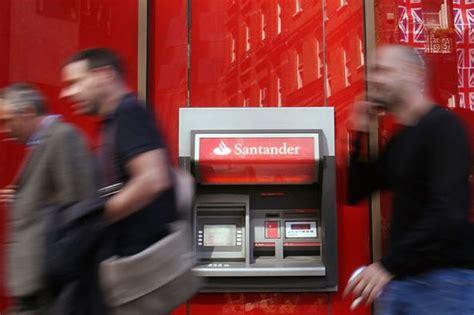 reset online banking santander santander faces huge bill to refund 30 000 customers after