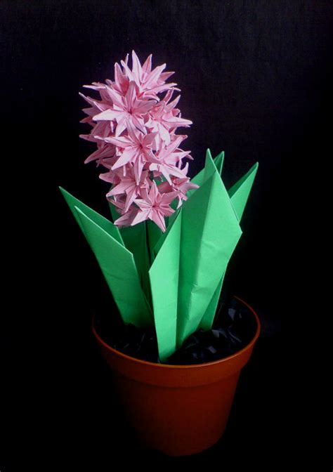 Origami Hyacinth - origami hyacinth by lonely soldier on deviantart