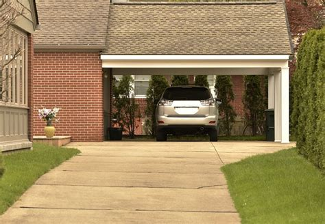 Carport Attached To Garage by Building A Carport Bob Vila