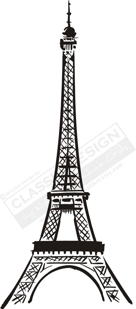 eiffel tower template eiffel tower stencil for walls