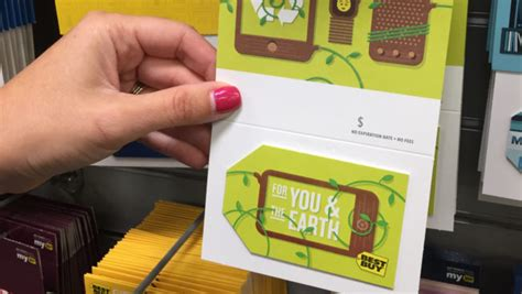 Best Buy Gift Card Amount - epr retail news best buy launches recyclable gift cards