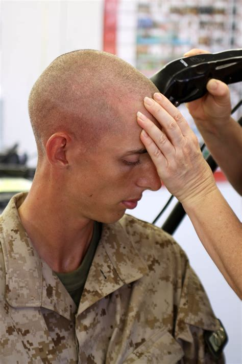 yourube marine corp hair ut high personal apperance standards learned early often