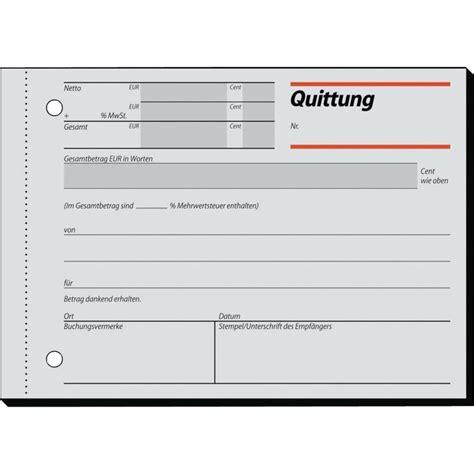 Word Vorlage Quittungsbeleg Sigel Quittung Rc021 Recycling Mit Blaupapier A6quer Inh 100 Blatt Auf Conrad