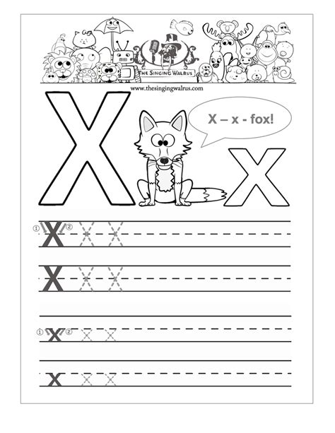 printable x worksheets letter x worksheets letravideoclip