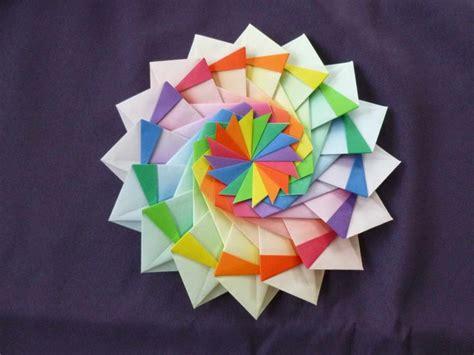Festive Origami - diagram festival origamiusa origami sterren