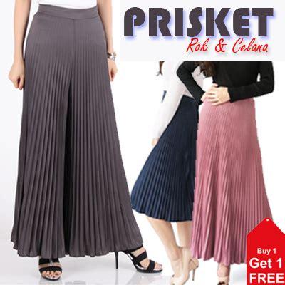 Rok Prisket Panjang qoo10 buy 1 get 1 free rok dan celana prisket
