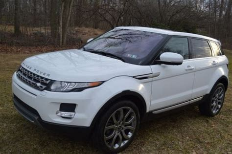 land rover range rover evoque 4 door find used 2013 land rover range rover evoque prestige