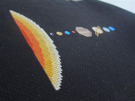 8 unique embroidery patterns scientific stitching