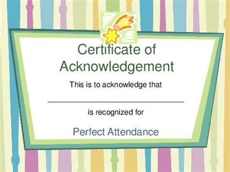 acknowledgement certificate templates quotes character building teacherlingo