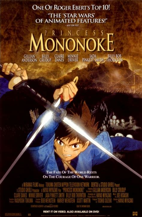 claire danes princess mononoke interview movies for gamers princess mononoke 1997