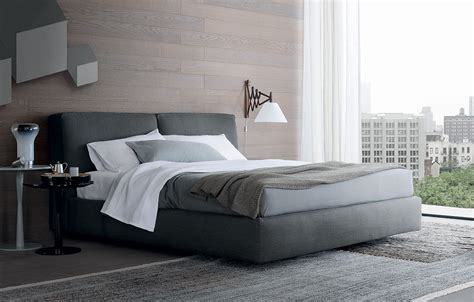Finish Line Upholstery Double Bed Arca Bed Poliform Luxury Furniture Mr