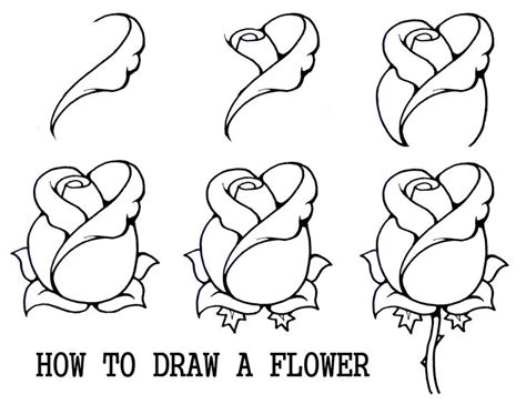 how to do a flowers doodle best 25 drawing simple ideas on
