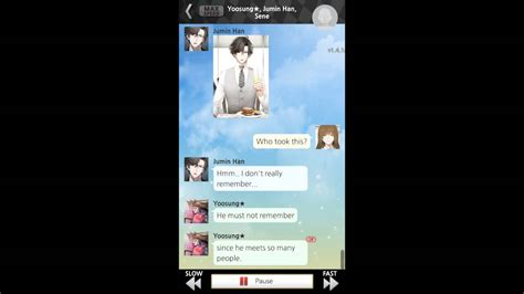 Mystic Messenger V2 Phone 1 mystic messenger zen route day 5 part 04 chat value of 8 49 call quot zen the
