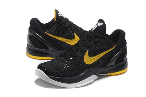 yellow and black nike basketball shoes cheap nike zoom 6 black yellow basketball shoes on